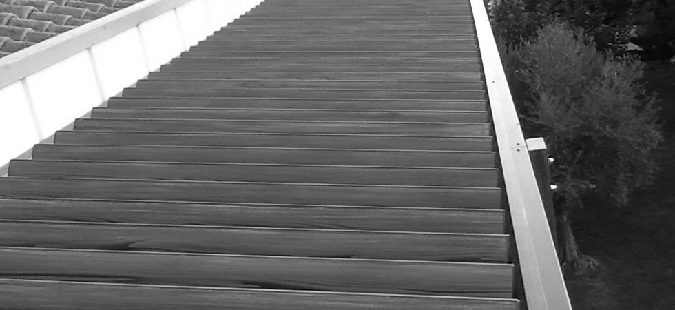 Woodallgarden Srl Strutture In Alluminio Effetto Legno